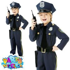 Amscan 999664 Police Officer Costume for Children 4-6 Years Old