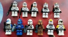 STAR WARS Mini figures: 11 x Clone Trooper Figures & Rifles Fits LEGO