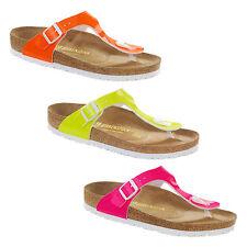 Damen-Sandalen & -Badeschuhe aus Synthetik mit Lack/Glanz für die Freizeit