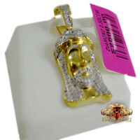 10kt Two-tone Gold Unisex Diamond-cut Supper Last Charm Pendant SNTSLV-81908