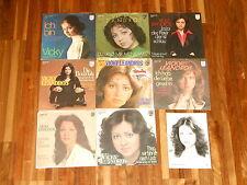 "Vicky Leandros - SAMMLUNG - 7 Singles (7"") + 1 PRESSE-FOTO - Bouzouki - Ich bin"
