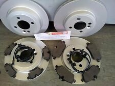 MINI ONE,COOPER 1.4 1.6 FRONT & REAR BRAKE DISCS & PADS+ WIRES 2006-2010 R55/6/7