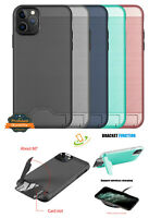 Samsung Galaxy S20 PLUS ULTRA Card Hidden Wallet Holder Hybrid Case Stand Cover
