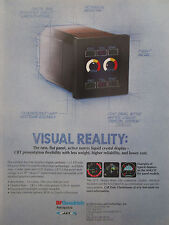 6/1993 PUB BF GOODRICH AEROSPACE JET ELECTRONICS LIQUID CRYSTAL DISPLAY CRT AD