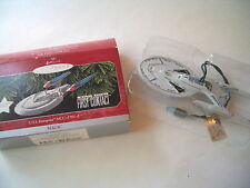 HALLMARK KEEPSAKE STAR TREK First Contact U.S.S. Enterprise NCC-1701-E Ornament