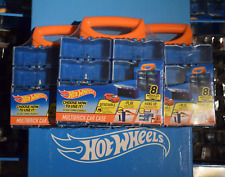 HOT WHEELS Carry Case X3 - Play - Carry - Hang - Display - 24 Modules