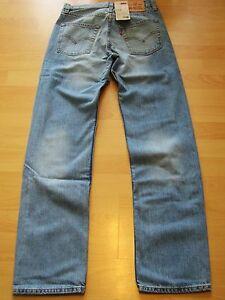 LEVI´S Herren Jeans 751 straight regular fit  W27 L32 blau 27/32 NEU Levis