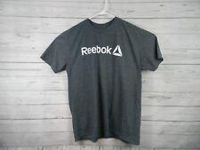 Reebok Mens Gray Extra Large Xl Short Sleeve Tee Shirt