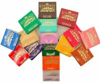 Incense Matches Lot of 10 Assorted Variety Scented Match Books 300 strikes