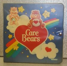 1984 Kenner Care Bears Collectors Carrying Carry Case Vintage Plastic Storage
