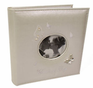 Large Wedding Photo Butterfly Picture Album Gift  4 x 6 ins Photos