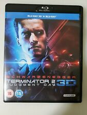 TERMINATOR 2: JUDGEMENT DAY: Blu-Ray 2D/3D 2 Disc Import 3 Cuts Schwarzenegger