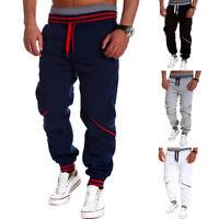 New Men's Casual Joggers Long Pants Casual Sweatpants Jogging Bottom Trousers