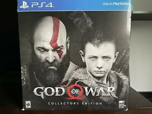 God of War: Collector's Edition (Sony PlayStation 4, 2018) Sealed Brand New