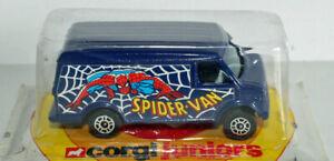 corgi juniors nice Spider man DC Comics van.