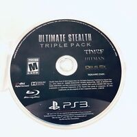 Ultimate Stealth Triple Pack (Sony PlayStation 3, 2015) Disc Only & Tested