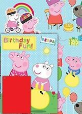 Birthday, Child Peppa Pig Wrapping Paper