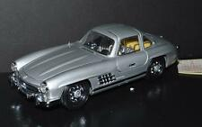 Franklin Mint 1/24 Die Cast Car 1954 Mercedes 300SL Gull-Wings Silver #3
