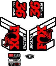 Fox FORK Stickers Decals Graphics Mountain Bike Down Hill MTB #b078