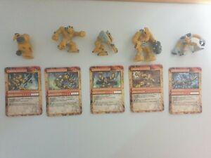 Gormiti Figuren 5 Stück plus Karten