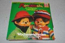 Monchhichi - Wochenendferien - Hörspiel RCA 80er - Album Vinyl LP