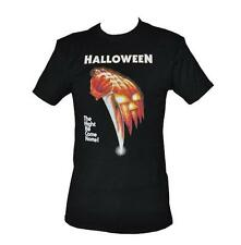 T SHIRT HALLOWEEN MOVIE POSTER MENS BLACK ALL SIZES S TO 3XL FREE POST HORROR