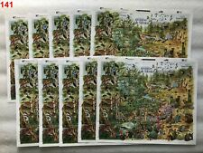 /// 10X MEXICO - MNH - FAUNA - ANIMALS - BIRDS - BUTTERFLY - INSECTS - TURTLE