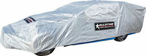 Allstar Performance 23306 Modified Car Cover Soft Liner in Silver with Zip