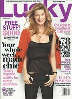 Lucky Magazine Ellen Pompeo Chic Fashion Sexy Healthy Hair Budget Style Bags