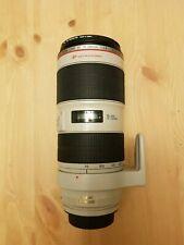 Canon EF 70-200mm F/2.8 EF IS II USM L Lens - White