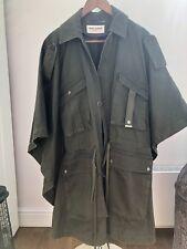 Saint Laurent Unisex Army Camo Jacket Poncho One Size - Oversize L/XL