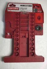 Organizer Craftsman 46pc Stubby Wrench And socket Set Holder Case