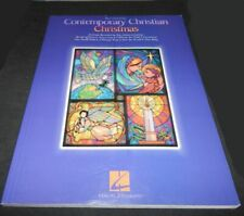 Contemporary Christian Christmas Sheet Music Book Piano & Guitar Chords Unmarked