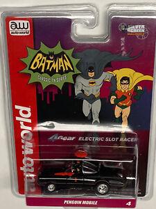 BATMOBILE PENGUIN Mobile HO Slot Car Classic TV Series BATMAN 4Gear  AW R-31