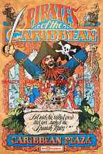 """Vintage Disney Pirates Of The Caribbean 1982 [ 8.5"""" X 11"""" ]  Glossy Poster"""