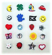 NEU für den KULT Clog: Anstecker / Pins 4 Stück Auswahl