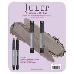 Julep Eyeshadow 101 Duo Sticks Taupe Shimmer & Stone NEW