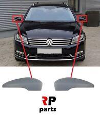 FOR VW PASSAT B7 11-14, PASSAT CC 08-17 WING MIRROR COVER CAP PRIMED PAIR SET