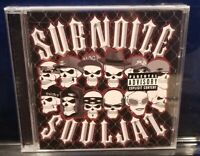Subnoize Souljaz - Album CD SEALED kottonmouth kings saint dog corporate avenger