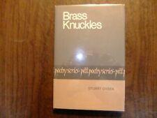 Brass knuckles Stuart Dybek signed first edition