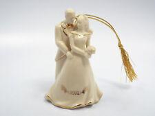 Lenox Christmas Ornament 2002 Bride and Groom, with box
