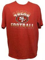 New San Francisco 49ers Men Sizes M-L-XL-2XL-3XL Red Soft Majestic Shirt
