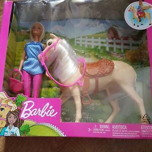 Barbie Set MIT Pferd NEU OVP