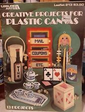 Leisure Arts: Creative Projects in Plastic Canvas pattern leaflet