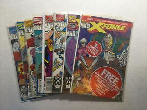 X-Force 1 2 3 5 7 8 9 10 Lot Run Set Near Mint- Nm- 9.2 Marvel