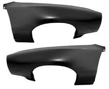 68-69 GTO LEMANS FRONT FENDER PAIR LH + RH NEW GOODMARK / GOLDEN STAR BRAND