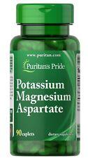 Puritan's Pride Potassium Magnesium Aspartate 90 Caplets