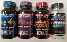 Blackstone Labs - Brutal 4ce / AbNORmal / Chosen1 / Metha Quad Stack FREE SHIP!