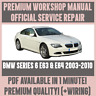 *WORKSHOP MANUAL SERVICE & REPAIR GUIDE for BMW E63 & E64 2003-2010 +WIRING