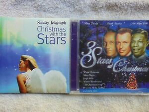 Crosby, Sinatra, Cole - 3 Stars At Christmas + Extra Disc - CD - FREE POST